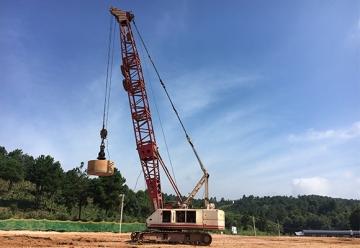 临港经济技术开发区土石方施工